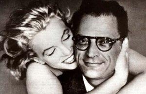 Arthur Miller con Marilyn Monroe