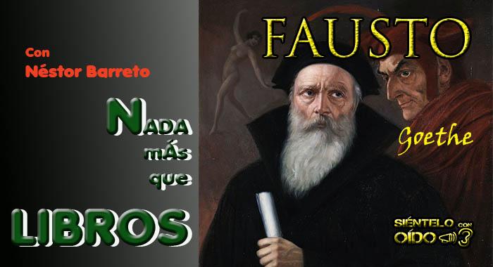 Nada más que libros – Fausto (Goethe)
