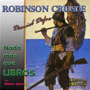 CARTEL NMQL - Robinson Crusoe-cuadro