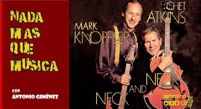 CARTEL NMQMMark Knopfler and Chet Atkins