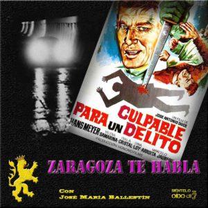 CARTEL ZTH-Culpable para un delito- cuadro