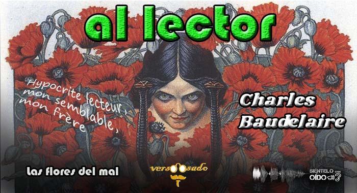 CARTEL - AL LECTOR - charles baudelaire-wp
