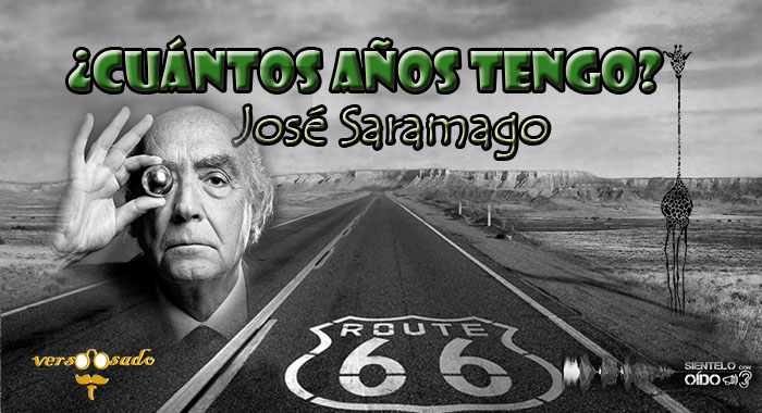 cartel CUANTOS AÑOS TENGO - Saramago-wp